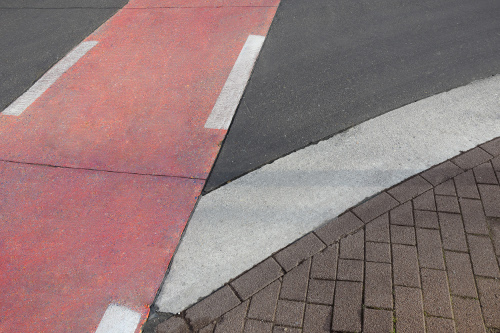 Red concrete, deep black asphalt and brown paving stones - iron oxide pigments offer an extensive range of colour options.